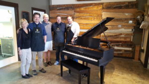 Chickering Grand Piano Rebuild 2016